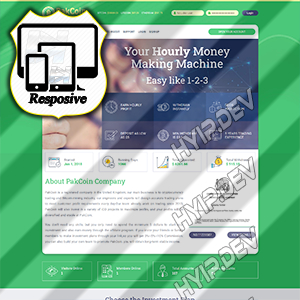 goldcoders hyip template no. 122