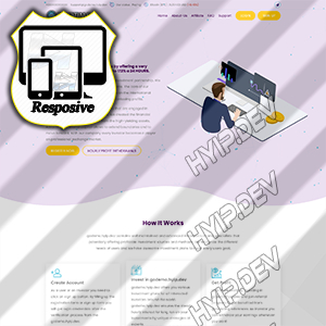 goldcoders hyip template no. 124
