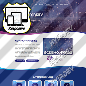 goldcoders hyip template no. 126