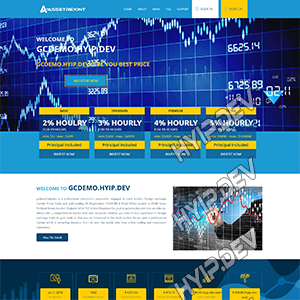 goldcoders hyip template no. 127