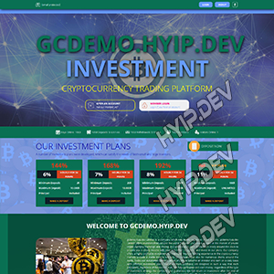 goldcoders hyip template no. 131