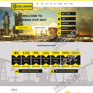 goldcoders hyip template no. 135