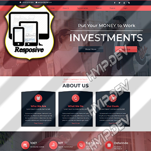 goldcoders hyip template no. 138