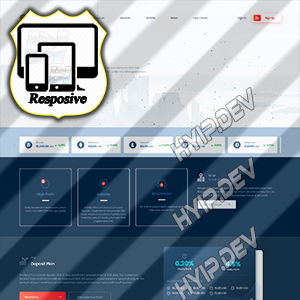 goldcoders hyip template no. 140