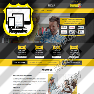 goldcoders hyip template no. 142