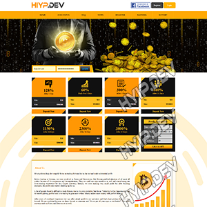 goldcoders hyip template no. 145