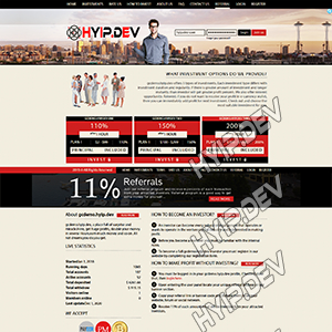 goldcoders hyip template no. 147