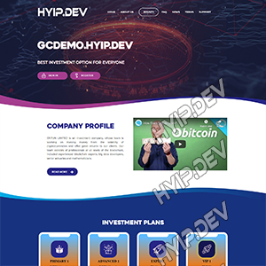 goldcoders hyip template no. 151
