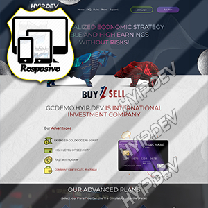 goldcoders hyip template no. 152