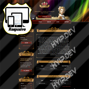 goldcoders hyip template no. 158