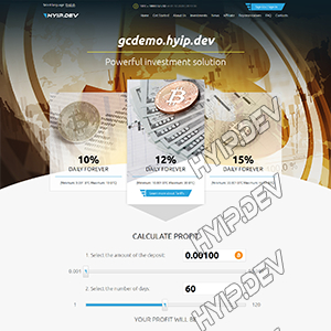 goldcoders hyip template no. 159