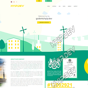 goldcoders hyip template no. 165