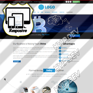 goldcoders hyip template no. 166