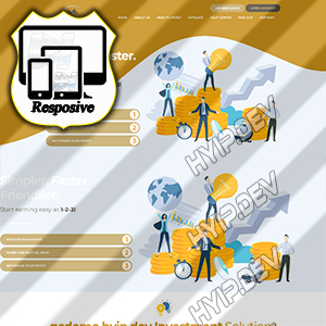 goldcoders hyip template no. 170
