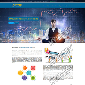 goldcoders hyip template no. 171