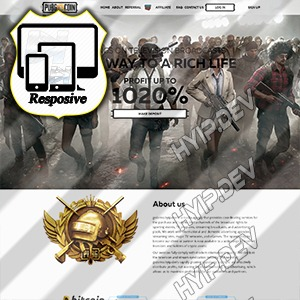 goldcoders hyip template no. 172