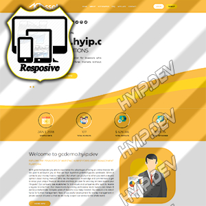 goldcoders hyip template no. 174