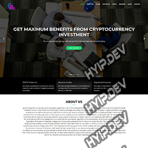 goldcoders hyip template no. 175