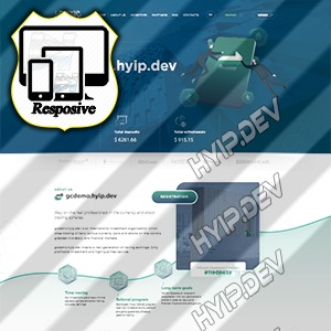 goldcoders hyip template no. 176