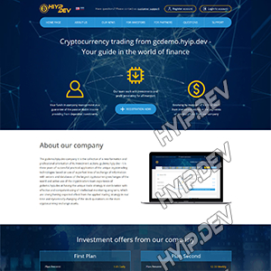 goldcoders hyip template no. 177
