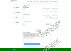goldcoders hyip template no. 179, deposit page screenshot