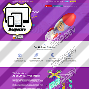 goldcoders hyip template no. 180
