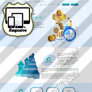 goldcoders hyip template no. 184