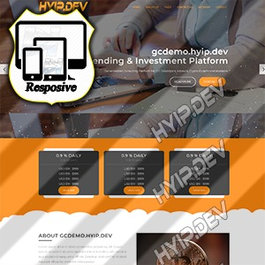 goldcoders hyip template no. 189
