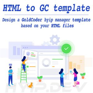 html to hyip template