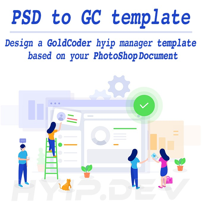 psd to hyip template
