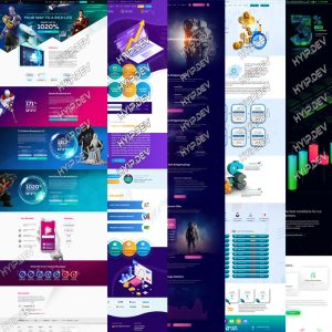 pack of hyip templates